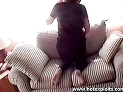 daughter caught on livecam