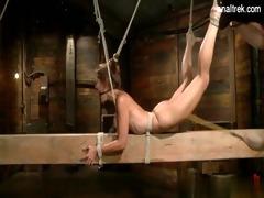 sexy daughter bondage anal
