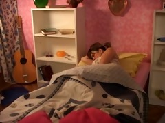 older fellow fuck young teen in bed room so great