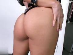 hawt slut stripping
