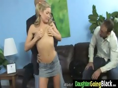 watchung my daughter getting fucked by black dick