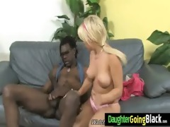 tight youthful teen takes big black pecker 22