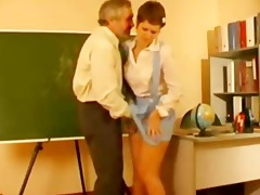 teacher abused german schoolgirl in uniform