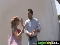 youthful daughter with nice gazoo fucked by a