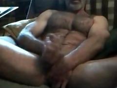 brawny hairy horny str8 daddy! hot verbal talkin