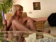 hotty fists her own pussy