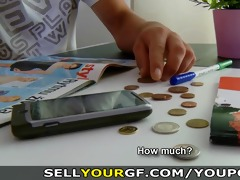 sell your gf - she wishes greater amount money