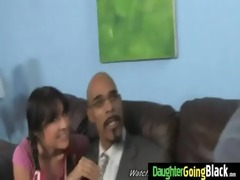 young daughter gets pounded by big dark cock 19