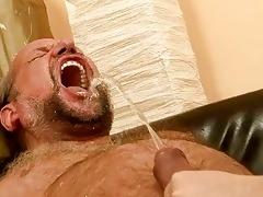 grandpapa fucking and pissing on naughty redhead