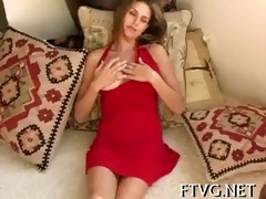 sweetheart masturbates nicely