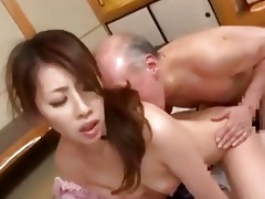 youthful japanese wife amp old guy