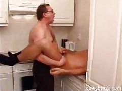 stud in glasses ass drilling his younger ally in
