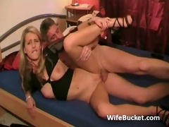 lascivious guy with younger wife