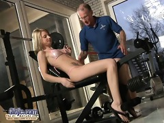 large dicked grandpa fucks a skinny young beauty