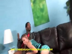 daddy watch his teen daughter suck bbc