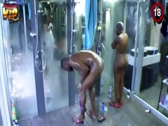 big brother africa hotshots shower hour (day 25)