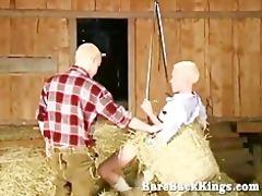 blonde barnyard workout