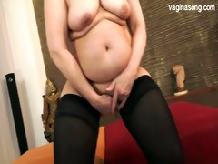 busty daughter cum on a-hole