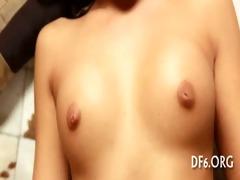 virgin cutie masturbates