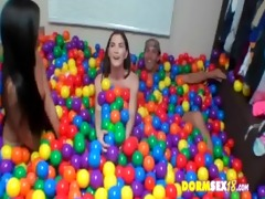 college cuties loved balls so much 001