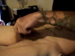 hottest impure talkin daddy discharges his load