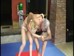 euro mixed wrestling (old-young)
