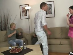 she receives toyed and fucked by his olds