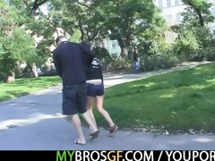 his brother bangs his gf