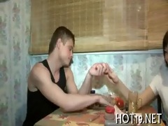 hotty is pounded well