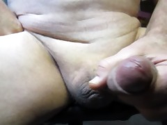 65 year old grandpapa cums