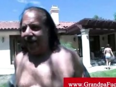 young jenny anderson pleasuring old man
