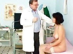 older man doctor gives grandma radima a fu...