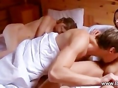 threesome with sister watching, part 2