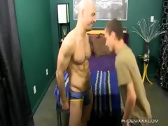 sweet dad and horny son fuck with adam russo and