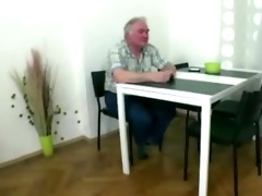 naughty czech girl bonks with old guy as soon as