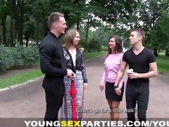 juvenile sex parties - girlfriends drilled like