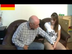 german grandpapa makes youthful angel horny