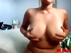 fat sister nipple take up with the tongue and paly