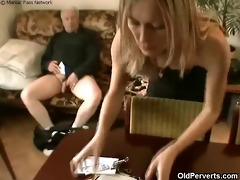 sexy maid desires old dong