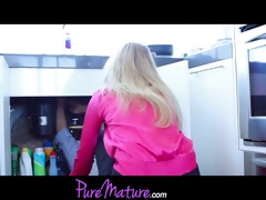 puremature mother and not her daughter take on a