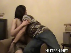 raunchy teenie is drilled