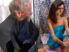 nasty old guy seduces a shy czech legal age