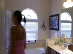 surprising horny dad in the baths