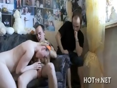 boy looks at gf drilled