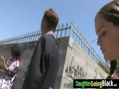 youthful daughter with precious wazoo fucked by a