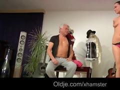 pervert oldman smashes anabels youthful tiny wazoo