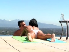 a crown jewels jade getting pounded by the pool