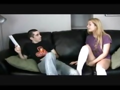 catherine screwed hard by step-brother and