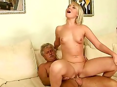 old man fucks hawt youthful blond