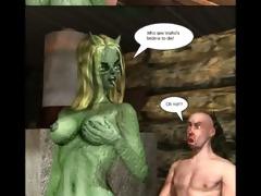 3d comic: vozhos bride